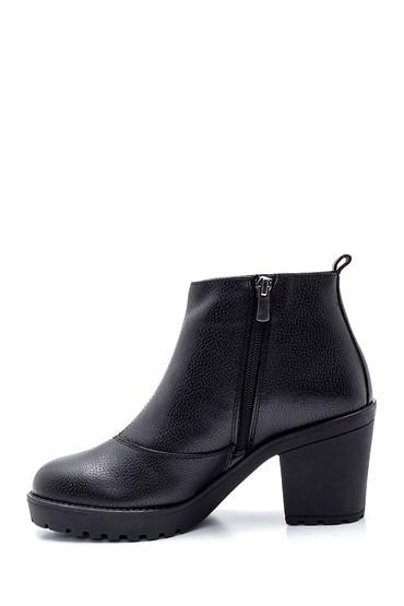 Siyah Kadın Topuklu Bot 5638304198