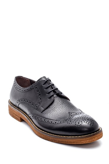 Siyah Erkek Casual Deri Ayakkabı 5638307749