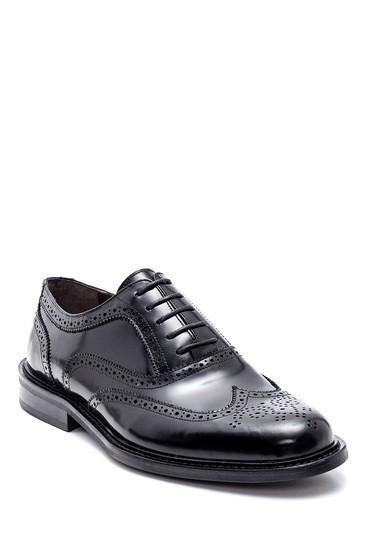 Siyah Erkek Casual Deri Ayakkabı 5638307889