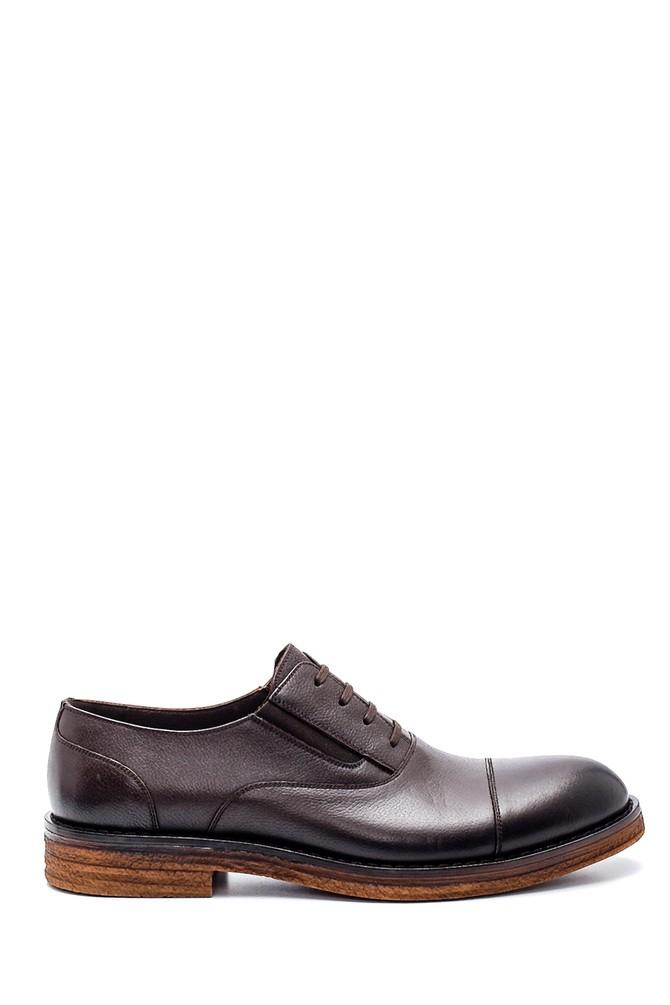 Kahverengi Erkek Casual Deri Ayakkabı 5638308190