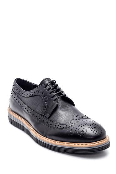 Siyah Erkek Casual Deri Ayakkabı 5638312027