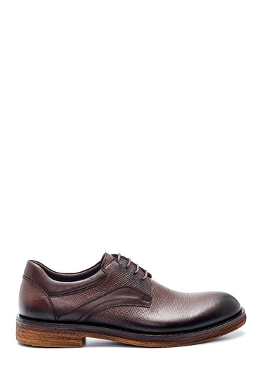 Kahverengi Erkek Casual Deri Ayakkabı 5638314326
