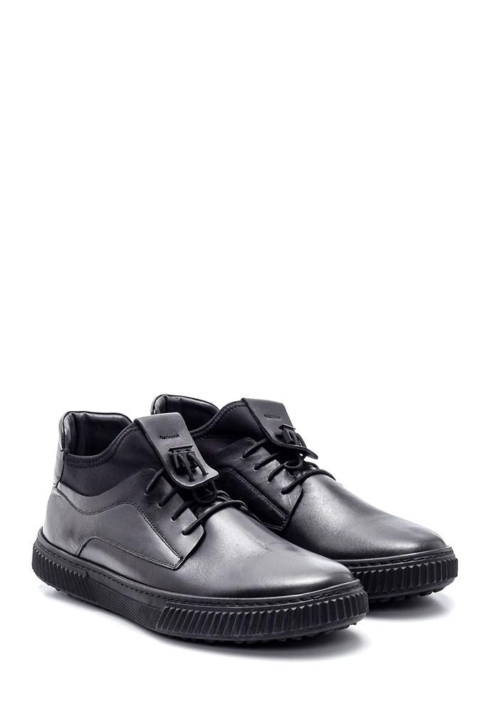 5638314710 Erkek Deri Sneaker