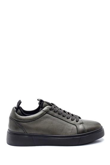 Yeşil Erkek Deri Sneaker 5638317743