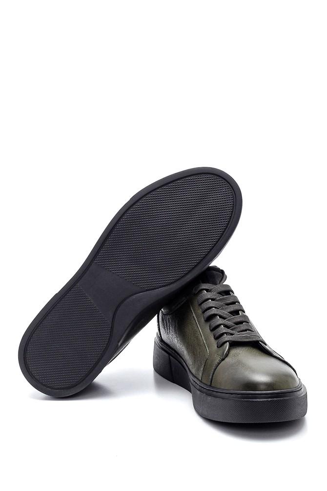 5638317743 Erkek Deri Sneaker