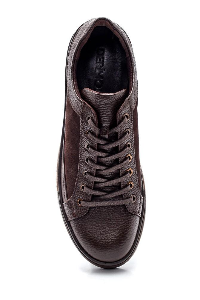 5638318765 Erkek Deri Sneaker