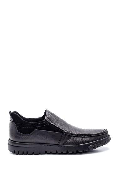 Siyah Erkek Deri Casual Ayakkabı 5638318909