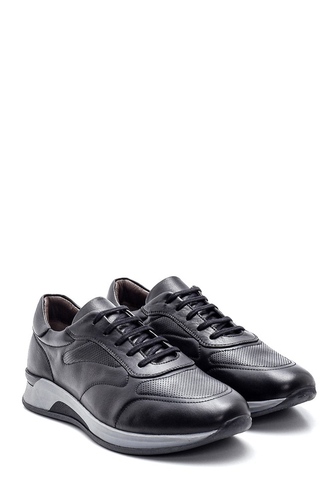 5638323129 Erkek Deri Sneaker