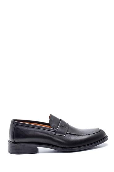 Siyah Erkek Deri Loafer Ayakkabı 5638327349