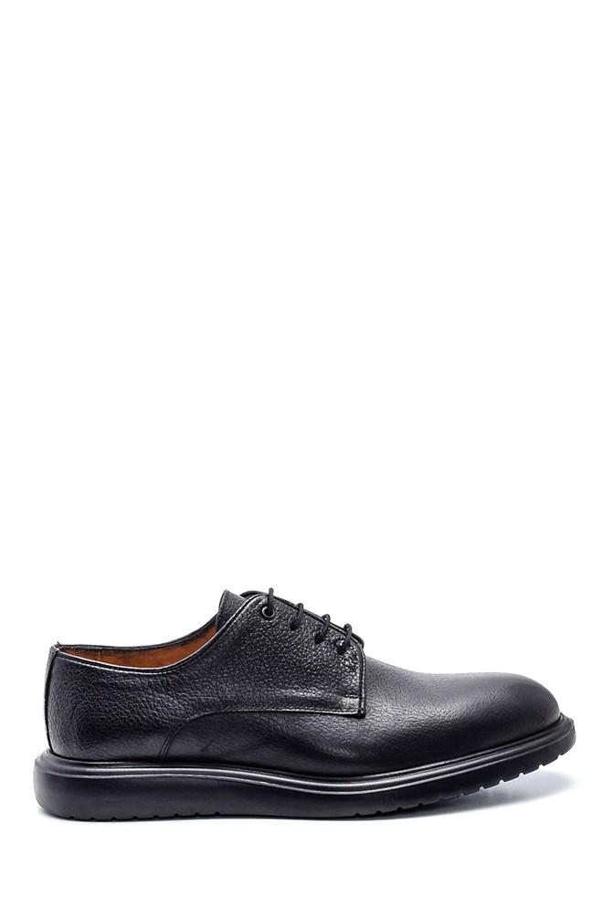 Siyah Erkek Casual Deri Ayakkabı 5638327498
