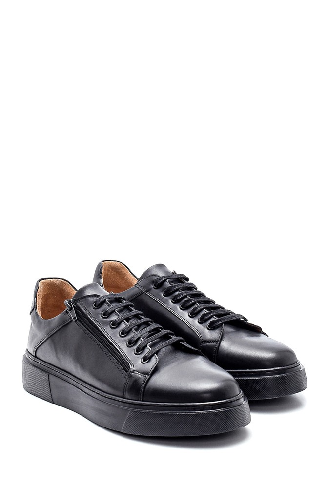 5638327562 Erkek Deri Sneaker