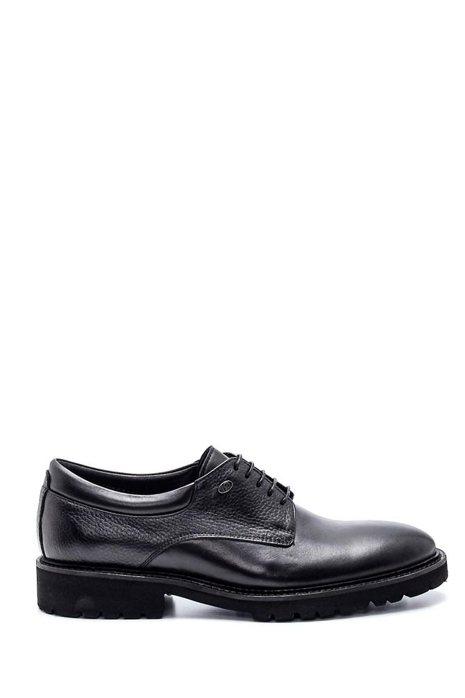 Siyah Erkek Casual Deri Ayakkabı 5638332122