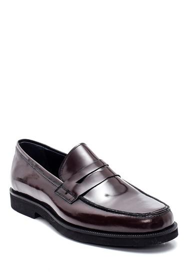 Bordo Erkek Deri Loafer Ayakkabı 5638332638