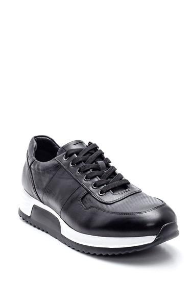 Siyah Erkek Deri Sneaker 5638312011
