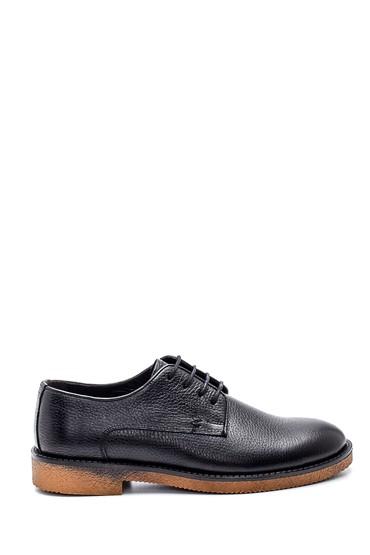 Siyah Erkek Casual Deri Ayakkabı 5638336721