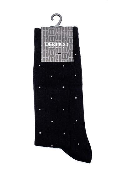 Siyah Erkek Pamuklu Çorap 5638159757