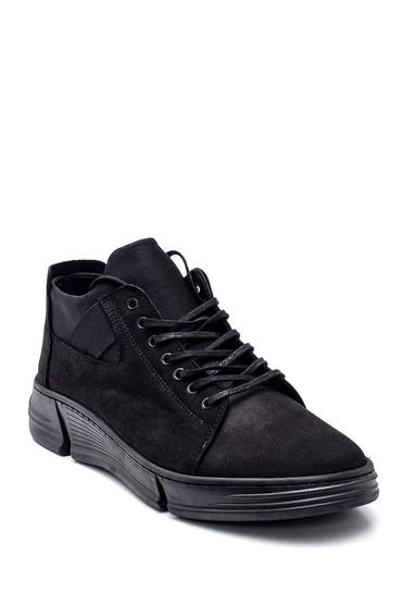 Siyah Erkek Casual Deri Ayakkabı 5638309827