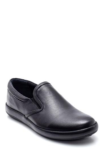 Siyah Erkek Deri Loafer Ayakkabı 5638312148