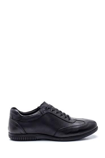 Siyah Erkek Deri Casual Ayakkabı 5638312281