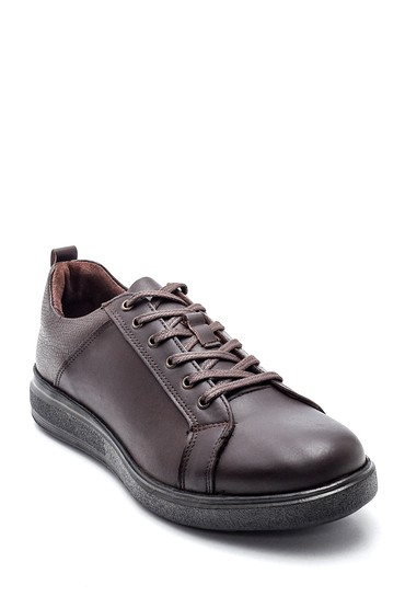 Kahverengi Erkek Casual Deri Ayakkabı 5638313175