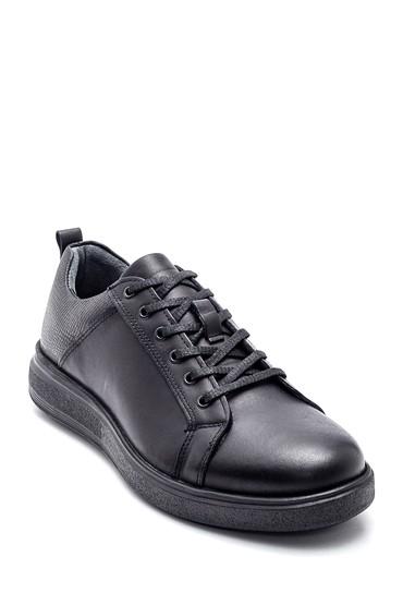 Siyah Erkek Casual Deri Ayakkabı 5638313173