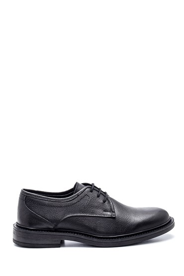 Siyah Erkek Deri Casual Ayakkabı 5638313913