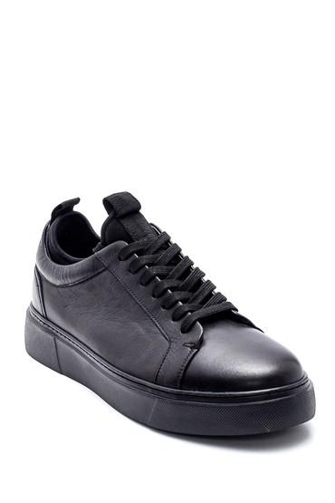Siyah Erkek Deri Sneaker 5638317748