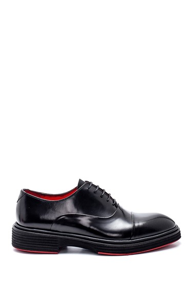 Siyah Erkek Casual Deri Ayakkabı 5638318177