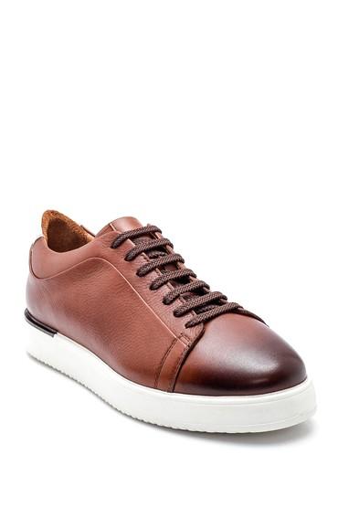 Taba Erkek Deri Sneaker 5638318211