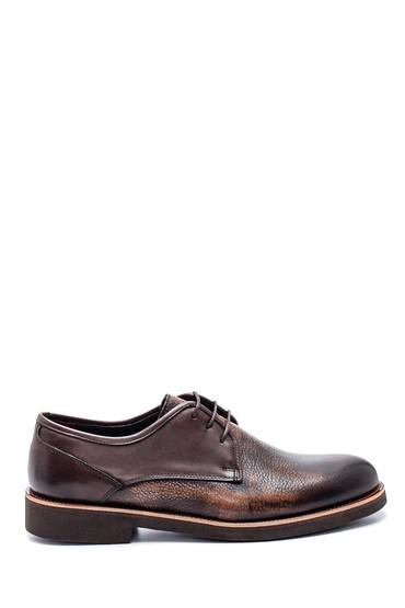 Kahverengi Erkek Casual Deri Ayakkabı 5638318326