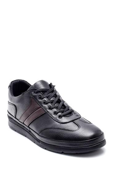 Siyah Erkek Casual Deri Ayakkabı 5638320641