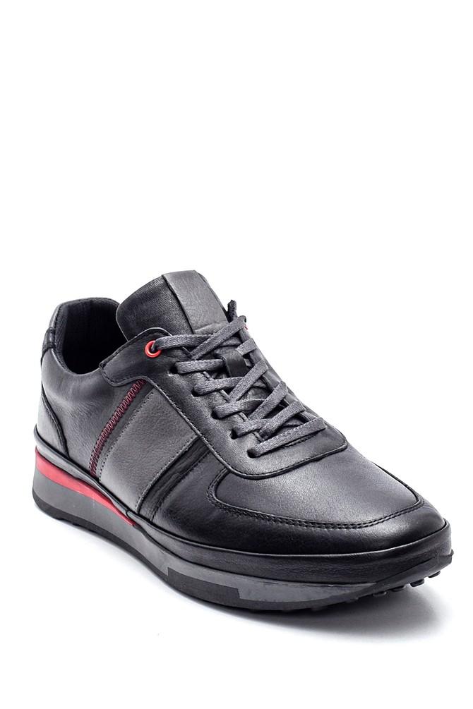 5638320973 Erkek Deri Sneaker