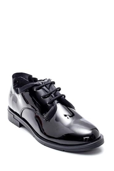 Siyah Kadın Rugan Ayakkabı 5638346882