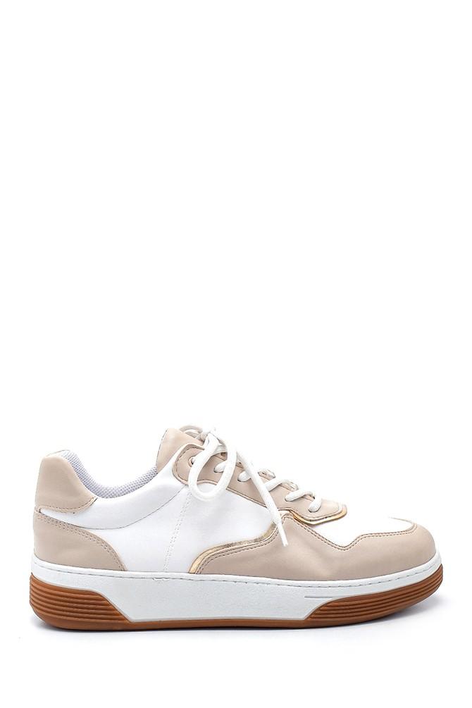 Bej Kadın Sneaker 5638343652
