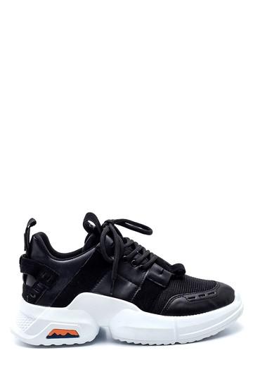 Siyah Kadın Sneaker 5638343787