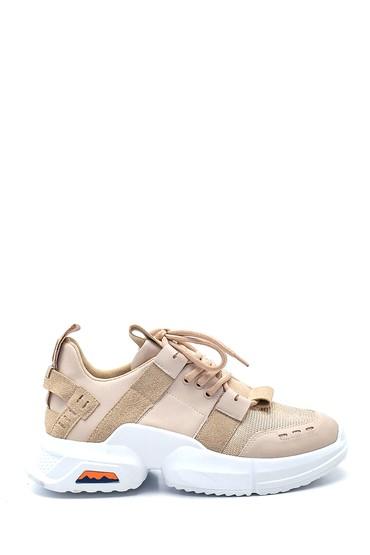 Bej Kadın Sneaker 5638343788