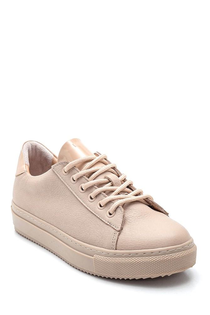5638348345 Kadın Deri Sneaker