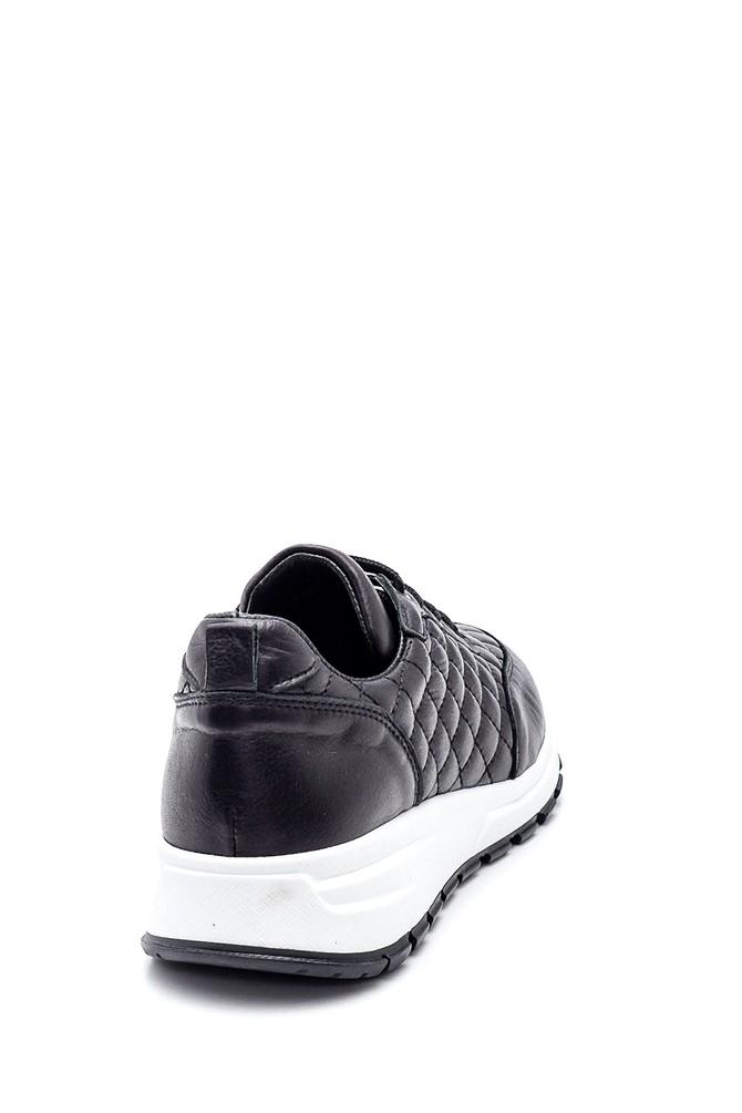5638344707 Kadın Kapitone Deri Sneaker