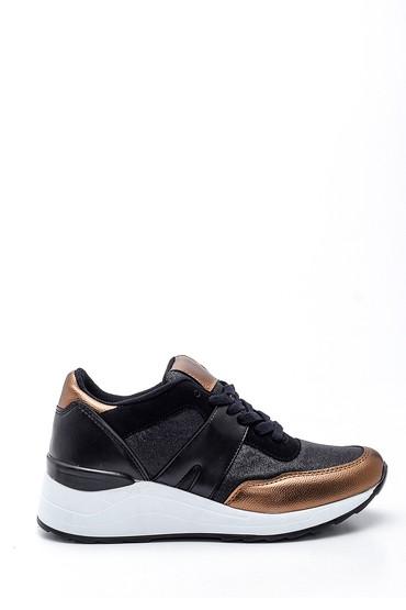 Siyah Kadın Sneaker 5638330384
