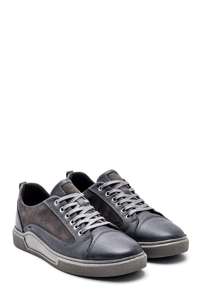 5638318796 Erkek Deri Sneaker