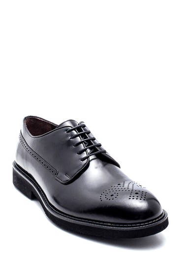 Siyah Erkek Casual Deri Ayakkabı 5638332916