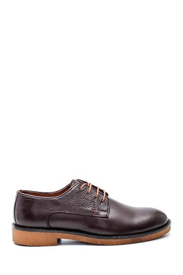 Kahverengi Erkek Casual Deri Ayakkabı 5638336723