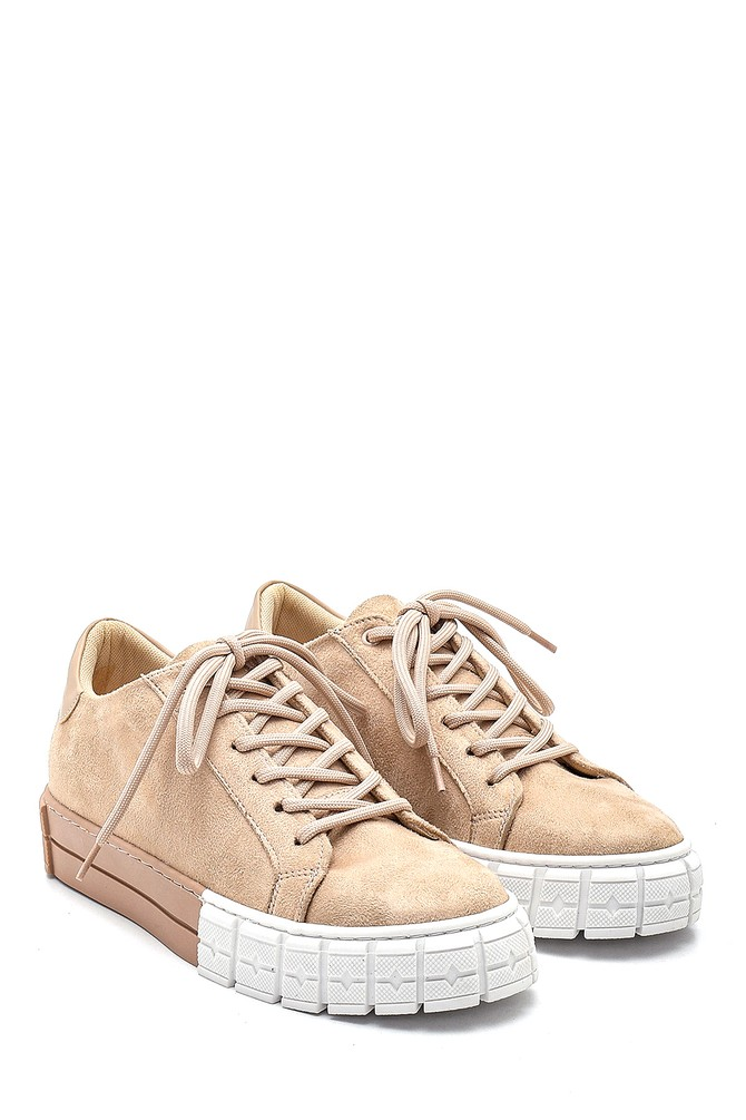 5638343238 Kadın Süet Sneaker