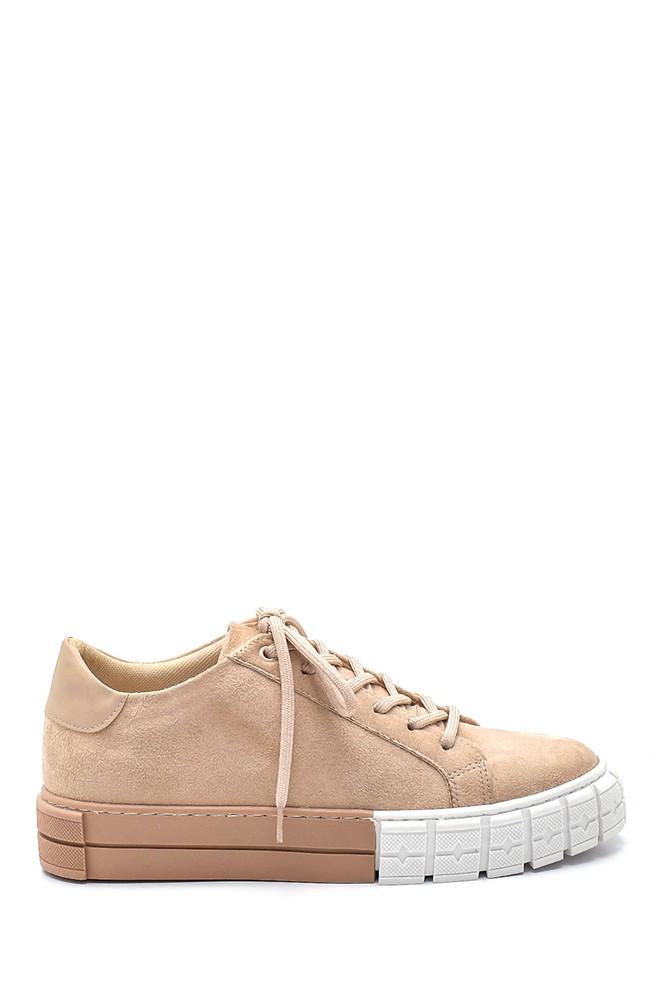 Vizon Kadın Süet Sneaker 5638343238
