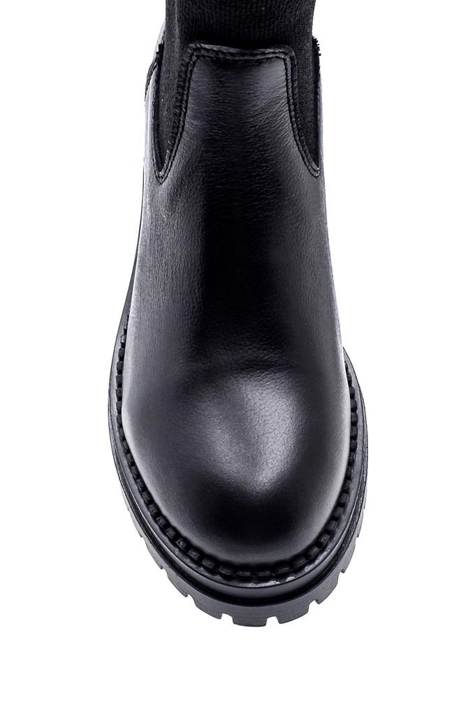 5638288376 Kadın Çorap Deri Bot
