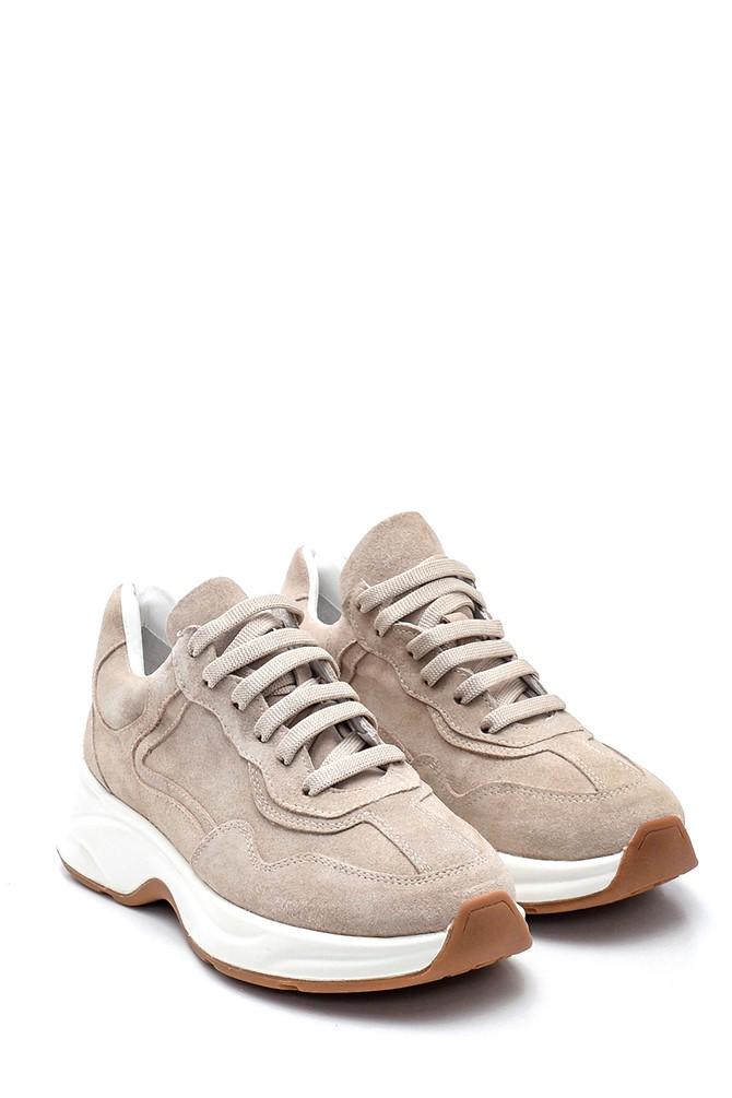 5638312337 Kadın Süet Deri  Sneaker