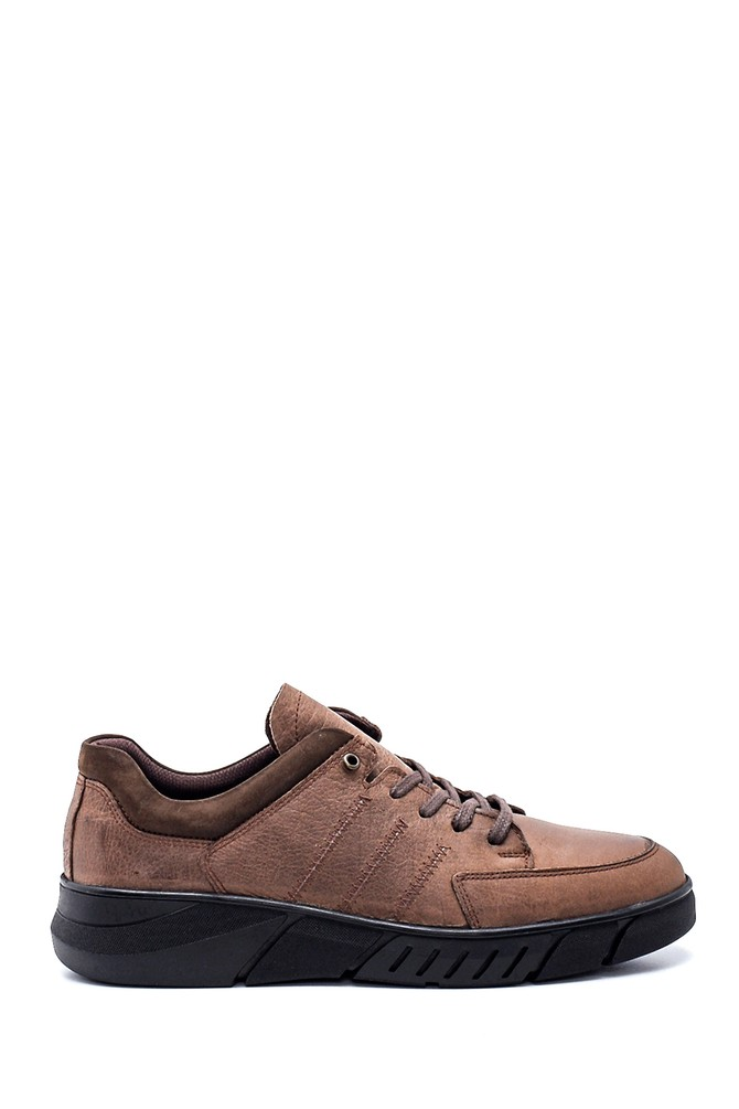 Vizon Erkek Deri Sneaker 5638313965
