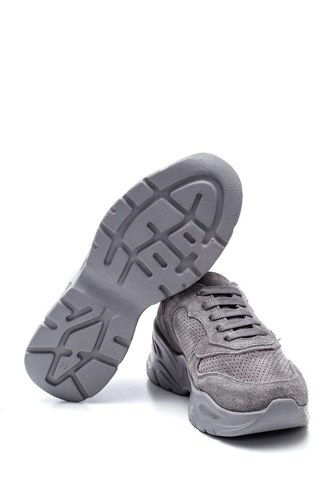 5638295126 Kadın Deri Süet Sneaker