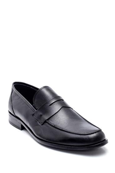 Siyah Erkek Klasik Deri Ayakkabı 5638336363