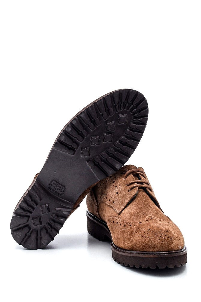 5638328317 Kadın Casual Süet Deri Ayakkabı